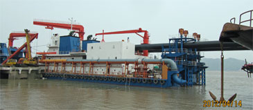 1,100 mm (43-inch) Cutter Suction Dredger (CSD)