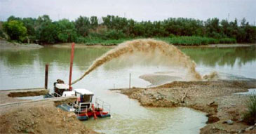 10-inch Cutter Suction Dredge - Ellicott 370
