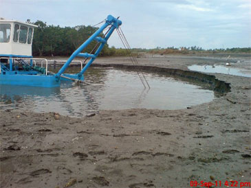 8-inch (203 mm) Cutter Suction Dredger
