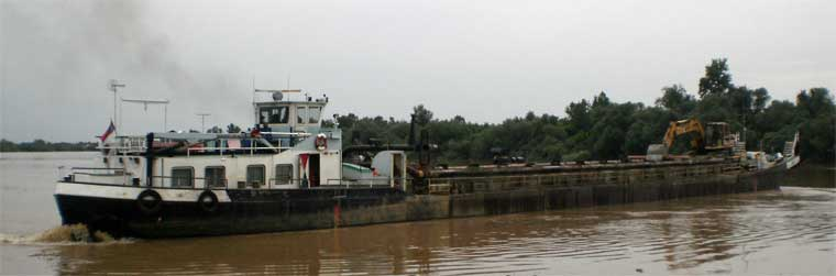 300 m3 Self Propelled, Trailing Suction Hold Barge
