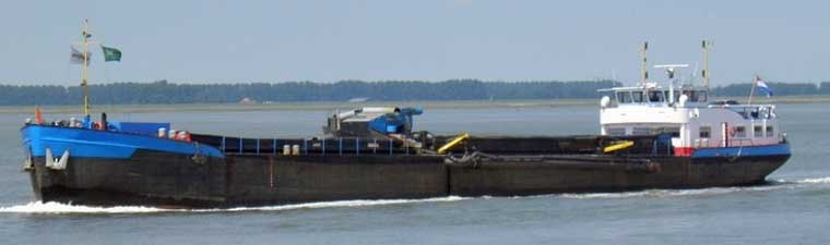 1,340 m3 Inland Trailing Suction Hopper Dredger (TSHD)