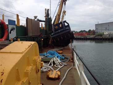 1,300 Cu/yd Trailing Suction Hopper Dredger (TSHD)