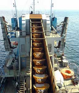 400 m3/hr Bucket Ladder Dredging Ship