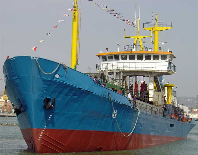 1,193 m3 Trailing Suction Hopper Dredger (TSHD)