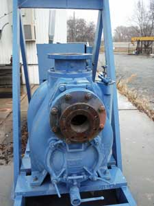 8 x 8-inch Gorman Rupp Booster Pump