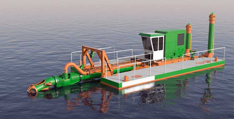 200 mm (8-inch) Cutter Suction Dredger NEW