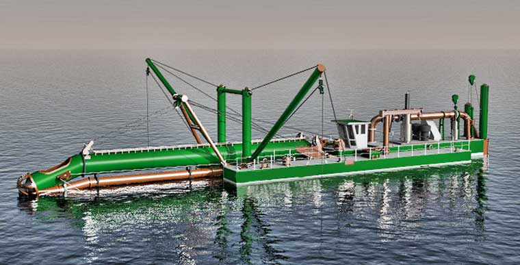 650 mm (26-inch) Cutter Suction Dredger NEW