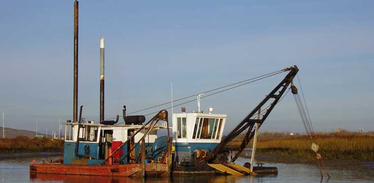 10-inch Cutter Suction Dredger