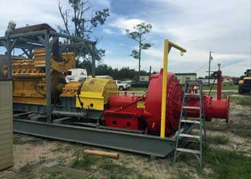 16-inch GIW Booster Pump w/ Cat D398 Prime Mover