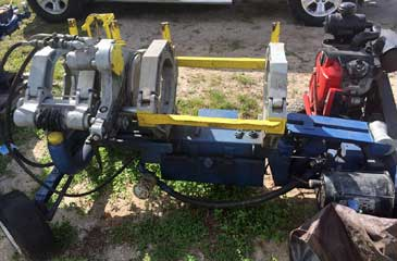 12-inch Pipe Fusion Machine - McElroy 412