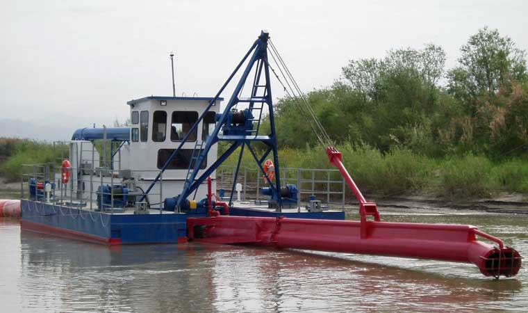 16-inch Water Jet Cutter Suction Dredger