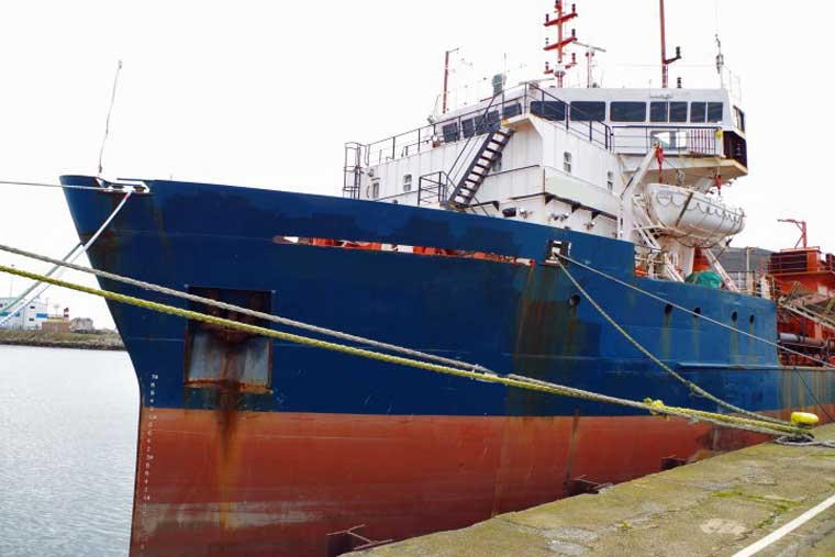 2,734 m3 Aggregates Dredger with Conveyor Offloading