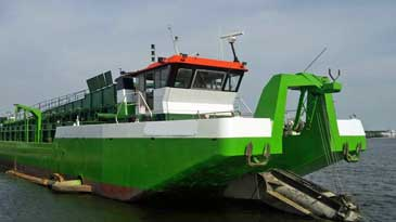 650 m3 Sand Hopper Dredger with Rainbow Discharge