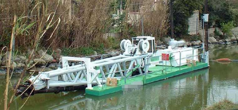 6-inch Road Transportable Cutter Suction Dredger (CSD)