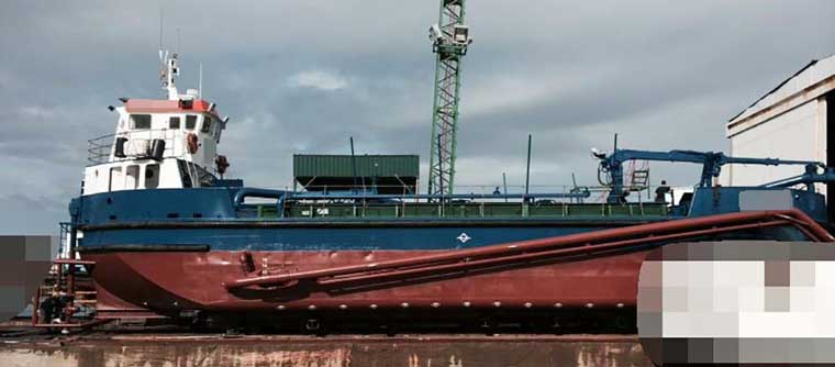 182 m3 Leading Suction Hopper Dredger