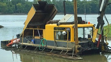 8-inch Articulated Ladder Suction Dredger