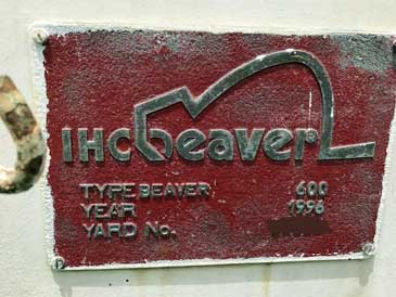 16-inch Cutter Suction Dredger, IHC Beaver 600