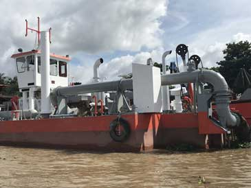 20-inch Cutter Suction dredger, IHC Beaver 1600