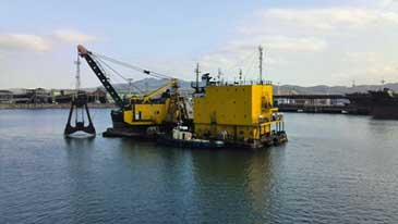 17.5 m3 Grab Bucket Dredger