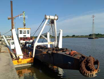 20-inch Cutter Suction Dredger (CSD) IHC 5014