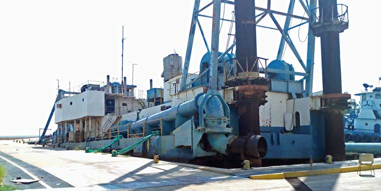 36-inch Cutter Suction Dredger for Charter, South America