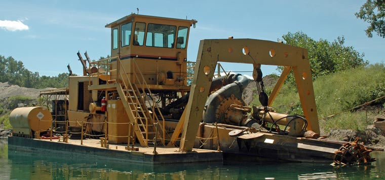 12-inch DSC Cutter Suction Dredger