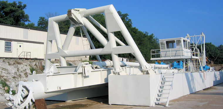 Rebuilt 24-inch Cutter Suction Dredge