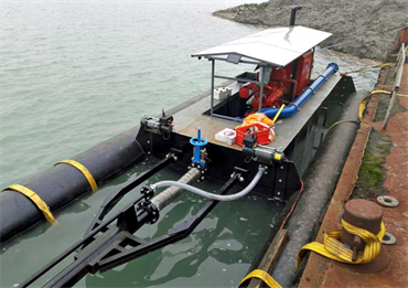 6-inch Jet Cutter Dredger, Highly Transportable