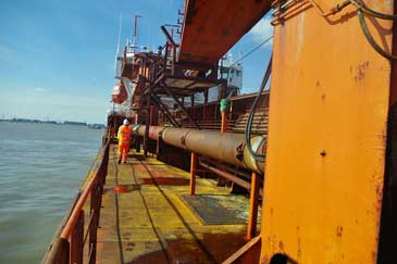 2,311 m3 Trailing Suction Hopper Dredger, Aggregates Type