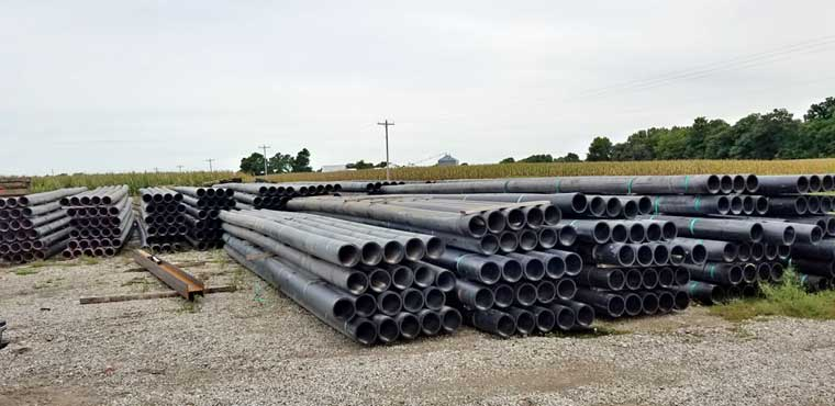 10-inch SDR 17 HDPE Pipe - New Surplus