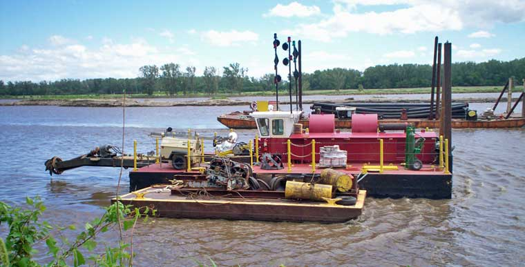 12-inch Cutter Suction Dredge