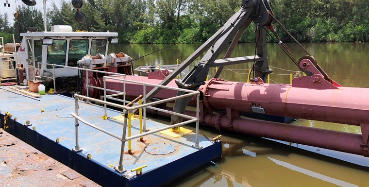 14-inch Cutter Suction Dredge (CSD) Ellicott Model 670