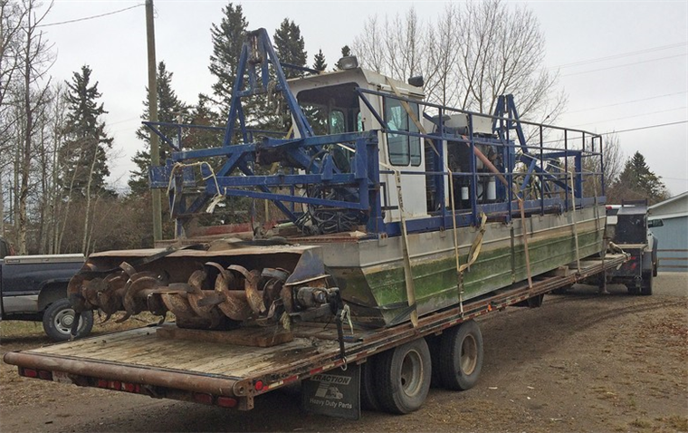 8-inch Horizontal Cutter Dredge, IMS 3010