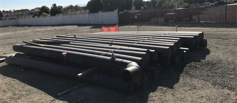 12-inch SDR 17 Pipe in 20-foot Sections